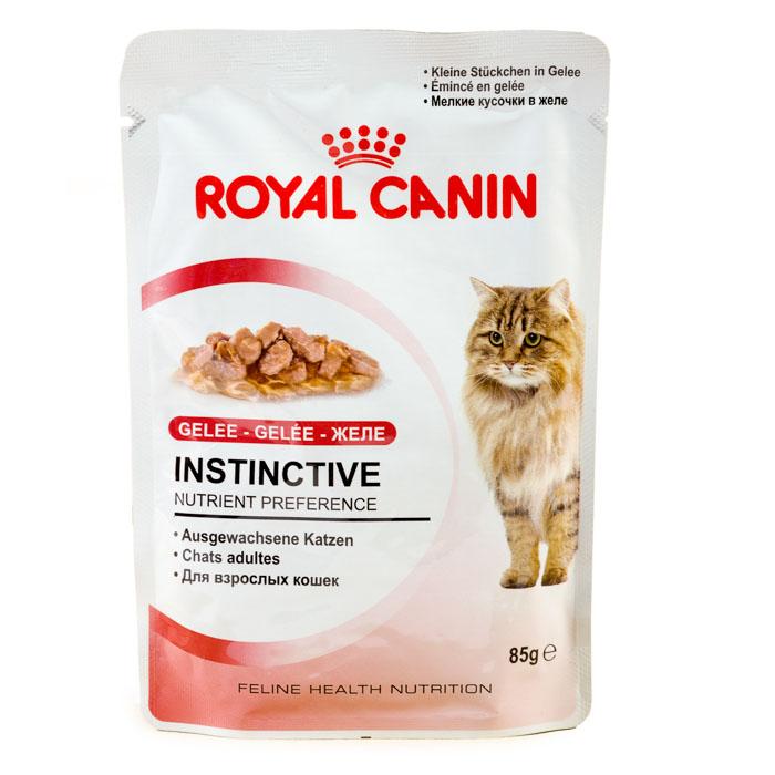 Корм royal canin паучи желе
