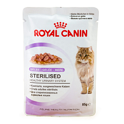Royal Canin Стерилизайд желе для кошек, 85 г